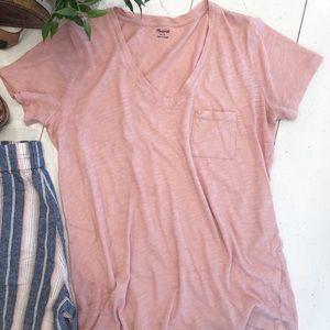 MADEWELL pink T-shirt sz S
